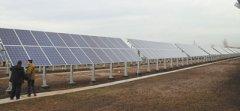 中国援建哈萨克斯坦太阳能及风能电站近日投入使用