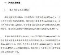 中国石油:拟联合两关联方增资中油财务 总额超220亿