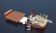 世界最大海上风电施工船入坞 挪威OHT将