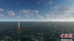 国内最大单体海上风电项目首台风机并网发电