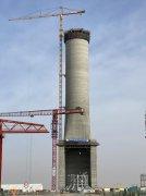 """""""沙漠造塔机""""攻克全球最高、最大光热电厂集热塔"""