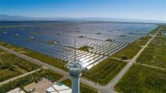 青海省集中式光伏发电量居全国首位